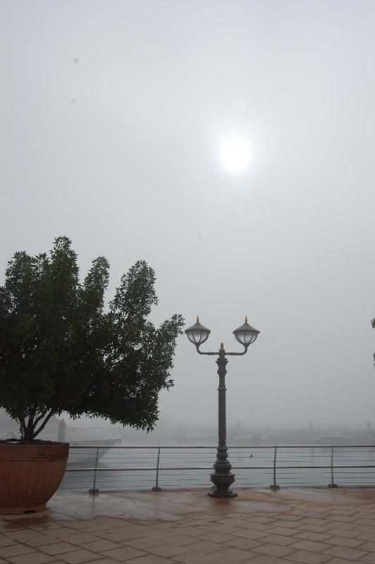 Abu Dhabi dans la brume climat 2