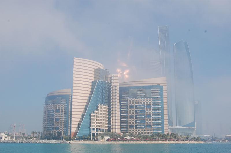 Abu Dhabi dans la brume climat 3