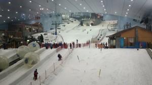 ski dubai vue en bas