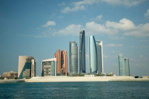 abud dhabi skyline emirates